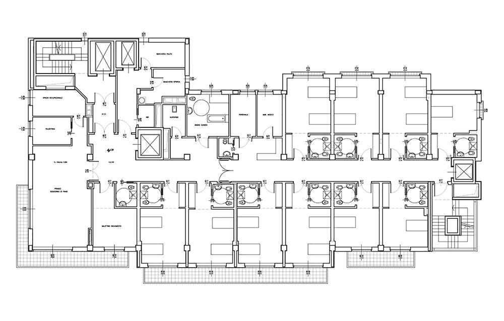 Casa di Riposo per Anziani e Centro Comunitario della Comunità Ebraica di Milano - Andrea Savio - Architetto