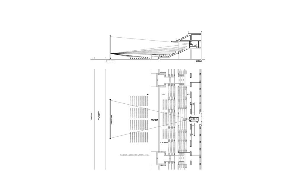 Cinema Ippodromo Galoppo - Andrea Savio - Architetto