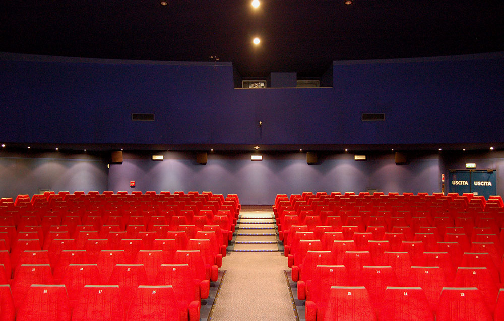 Cinema Arcobaleno - Andrea Savio - Architetto
