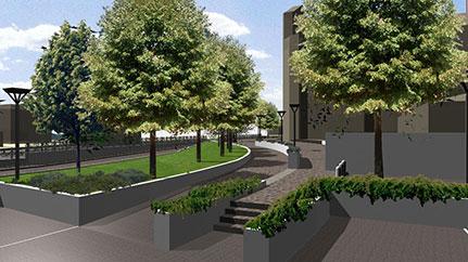 Piazza della Chiesa - Arosio (CO) - Andrea Savio - Architetto