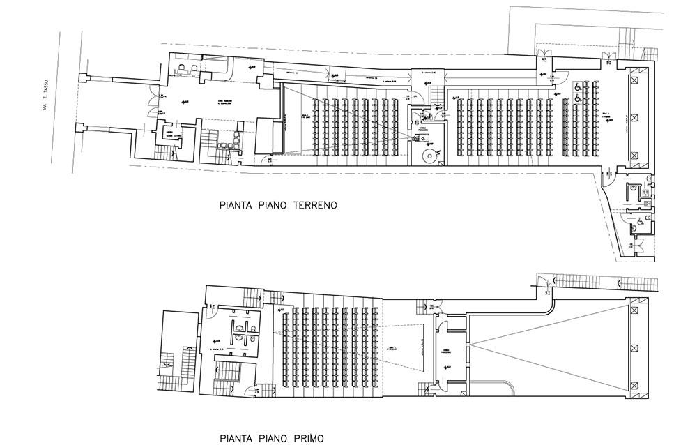 Cinema Multisala Capitol - Via T. Tasso a Bergamo - Andrea Savio - Architetto