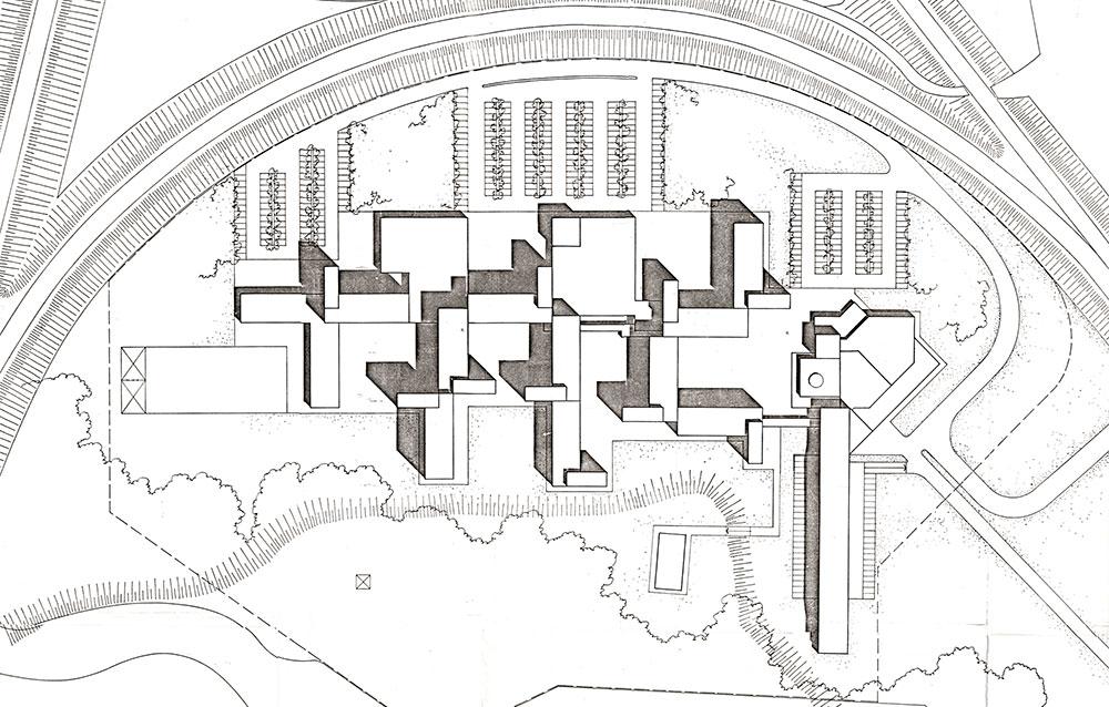 Istituti dell'Area di Ricerca del C.N.R. Zona Navile - Bologna - Andrea Savio - Architetto