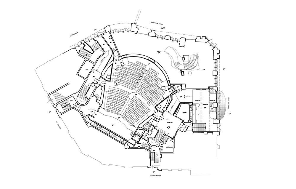 Cinema Excelsior Mignon - Galleria del Corso - Milano - Andrea Savio - Architetto