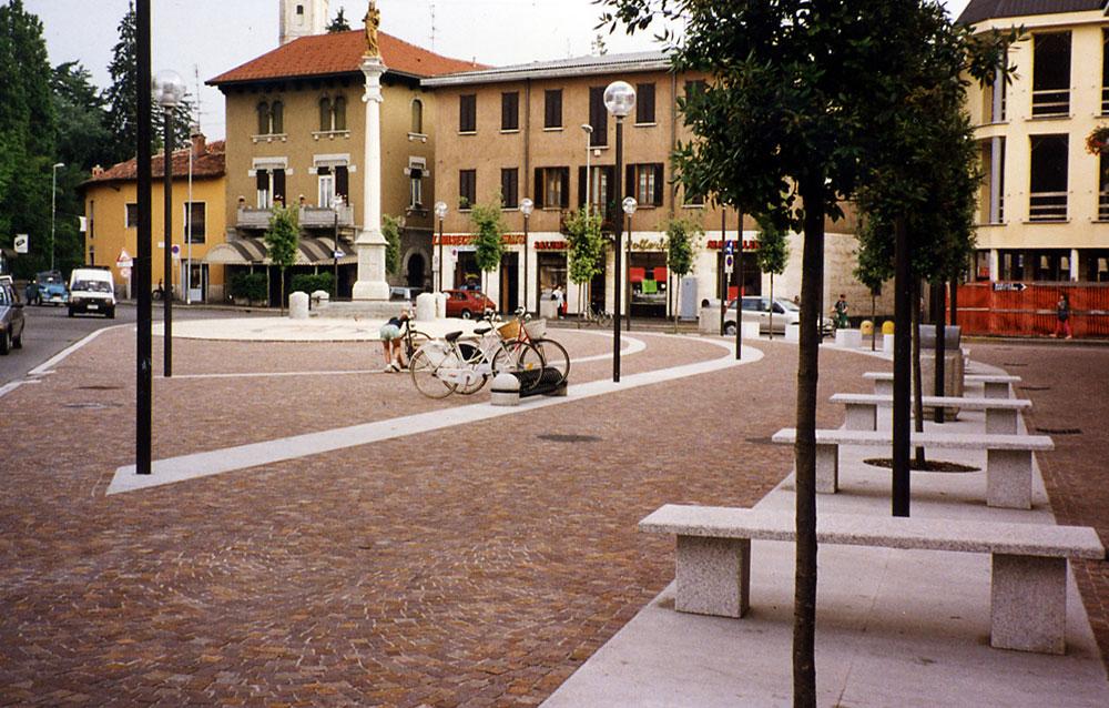 """""""Piazza Roma"""" a Giussano (MI) - Andrea Savio - Architetto"""