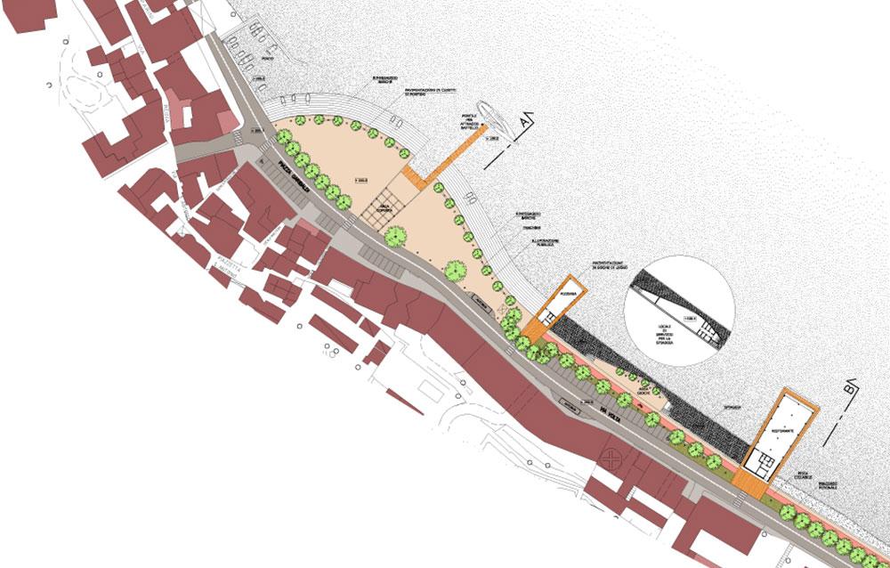 Riqualificazione lungolago - Malgrate (LC) - Andrea Savio - Architetto