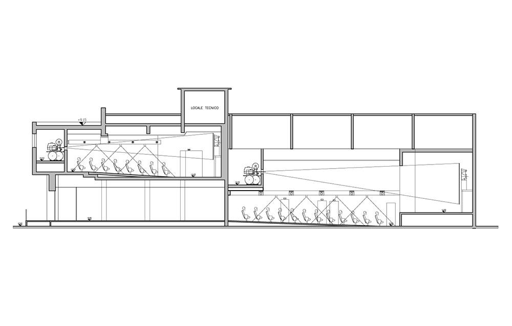 Cinema Metropolis - Andrea Savio - Architetto