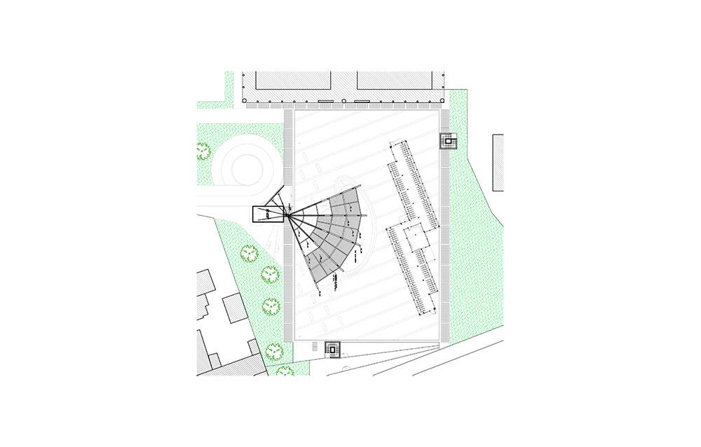 Struttura strallata Piazza E. Berlinguer a Paderno Dugnano (MI) - Andrea Savio - Architetto