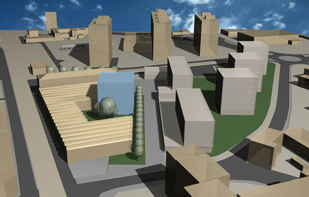 """Area """"ex TILANE"""" Paderno Dugnano (MI) - Andrea Savio - Architetto"""