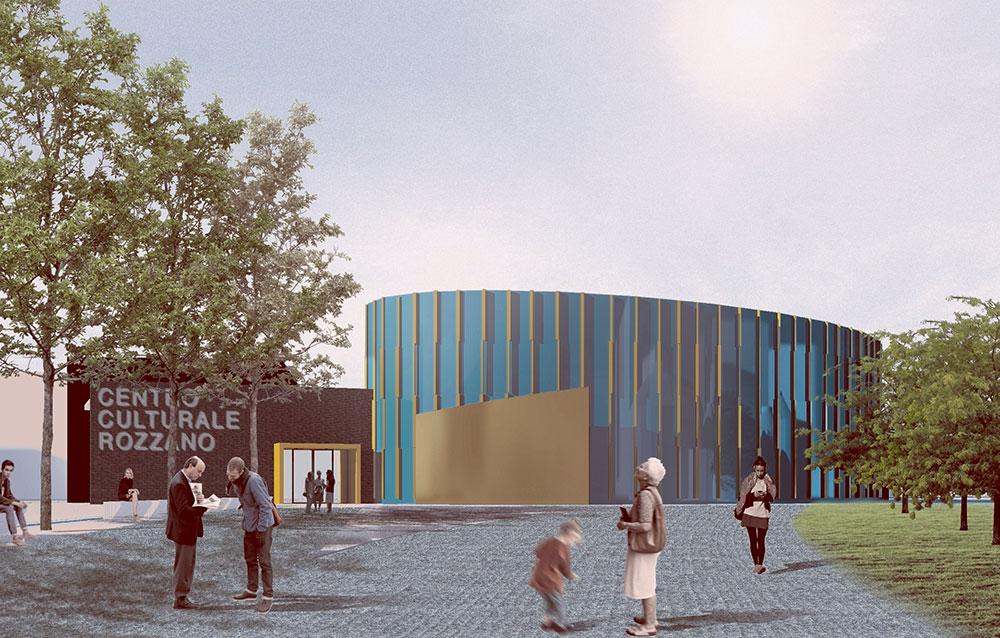 Centro Culturale a Rozzano (MI) - Andrea Savio - Architetto