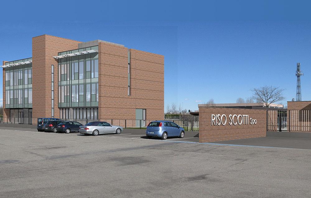 Riso Scotti S.p.A - uffici e logistica a Pavia - Andrea Savio - Architetto