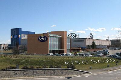 Riso Scotti S.p.A -uffici e logistica a Pavia